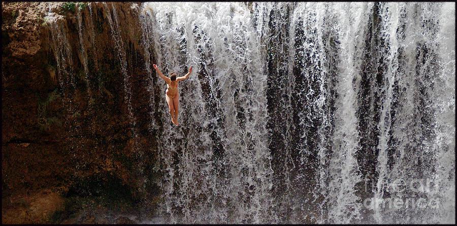 Rock Falls Photograph - Rock Falls by MAD Art and Circus