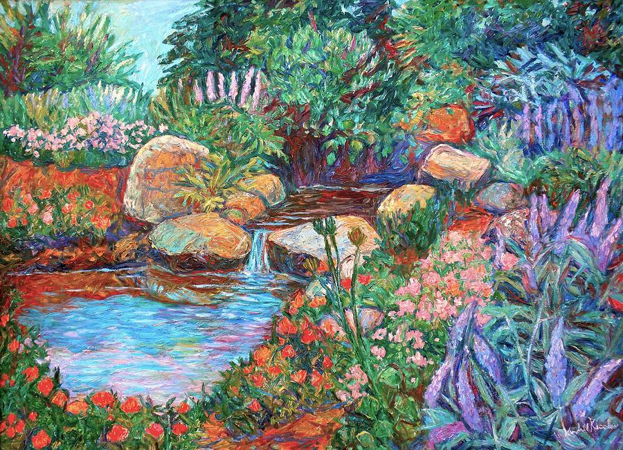 Rock Garden Painting - Rock Garden by Kendall Kessler