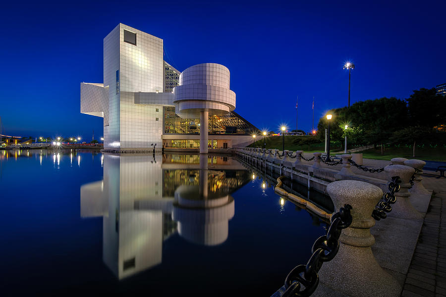 Rock Hall at Blue Hour by At Lands End Photography