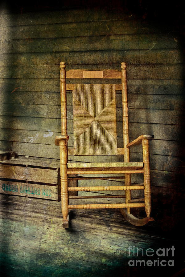 Rocking Chair Photograph - Rock Me Gently by Colleen Kammerer