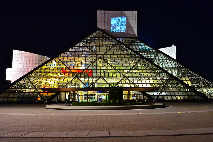 Rock And Roll Photograph - Rock n Roll hall of Fame Induction by Frozen in Time Fine Art Photography