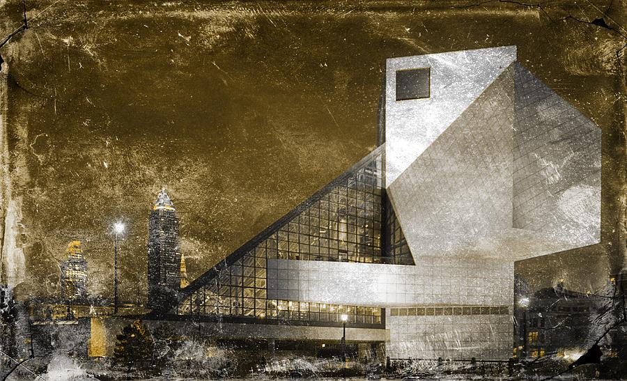 Cleveland Photograph - Rock n Roll Hall Of Fame by Sandra Rozhon