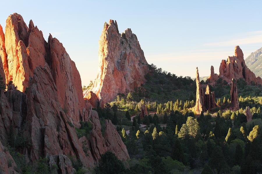Colorado Photograph - Rock Of Ages by Eric Glaser