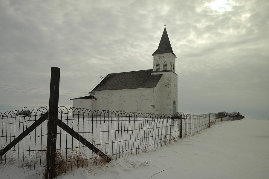 North Dakota Photograph - Rock Of Ages In North Dakota by Jeff Swan