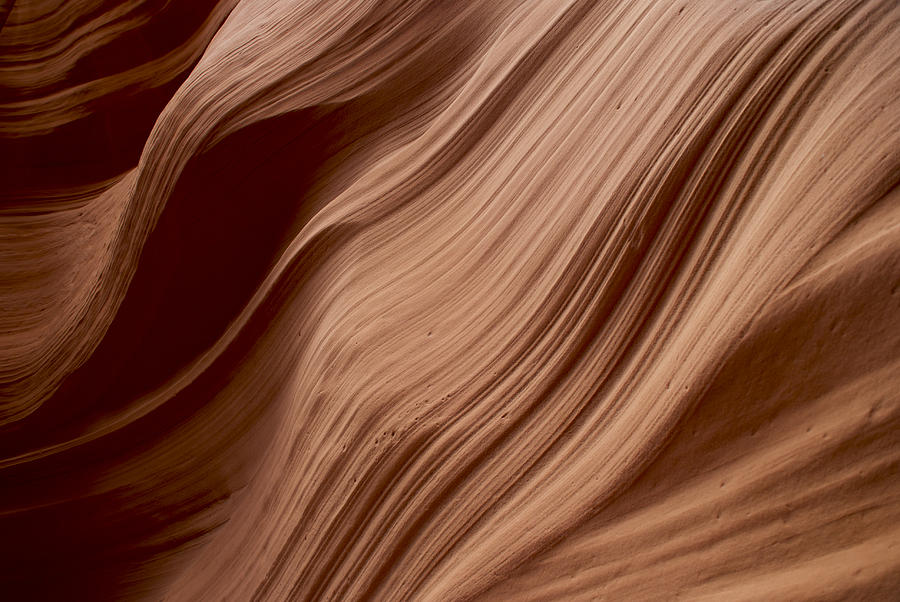 Landscape Photograph - Rock Pattern 1 by T C Brown