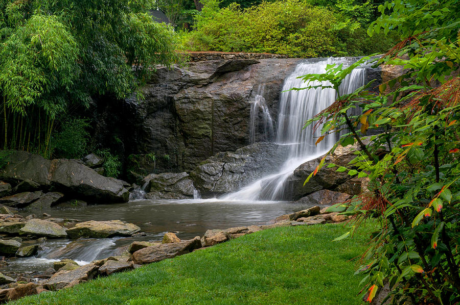 Rock Quarry Garden In Greenville Sc Photograph By Willie