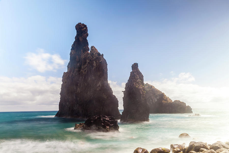 Rock, Ribeira Da Janela, Madeira Photograph by Peter Adams