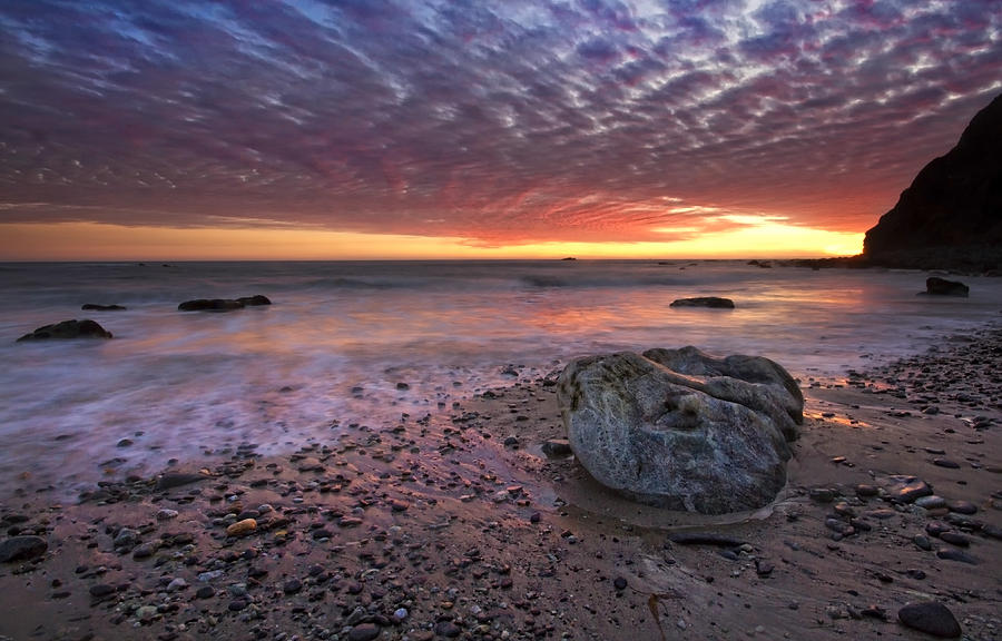 Dana Point Photograph - Rock Stopper by Julianne Bradford