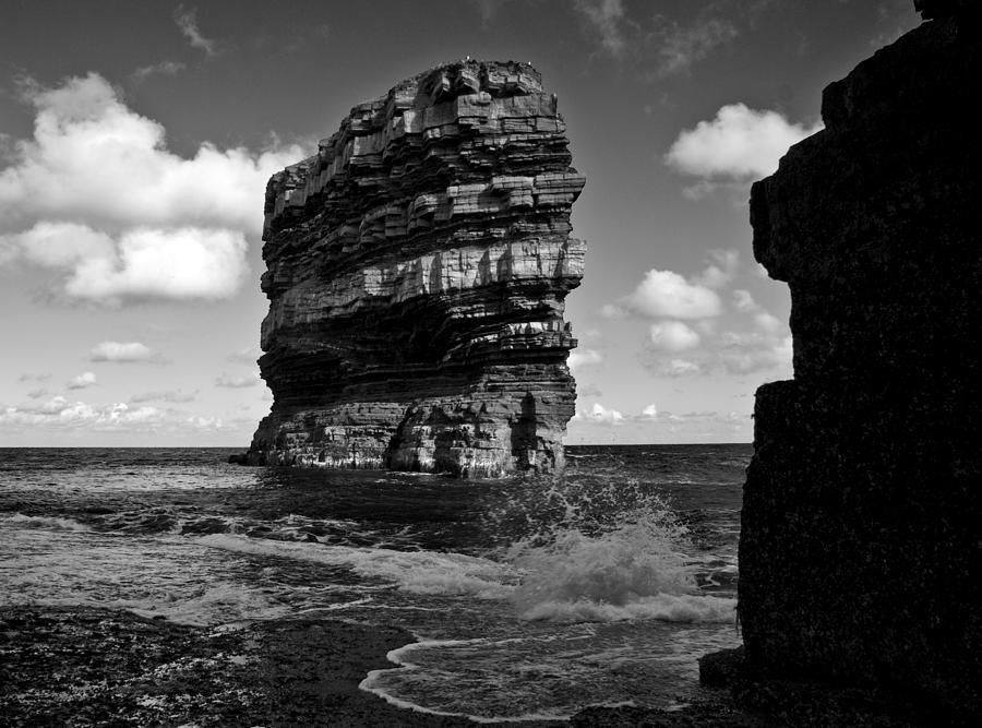 Cliff Photograph - Rock by Tony Reddington