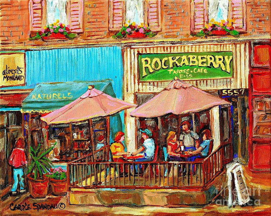 Prints Of Paris Cafes
