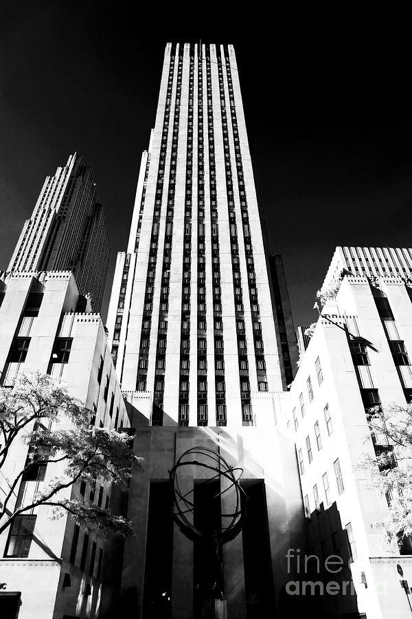 Rockefeller Center Photograph - Rockefeller Center by John Rizzuto