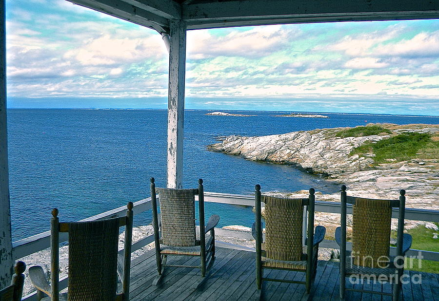 Star Island Chairs Photograph