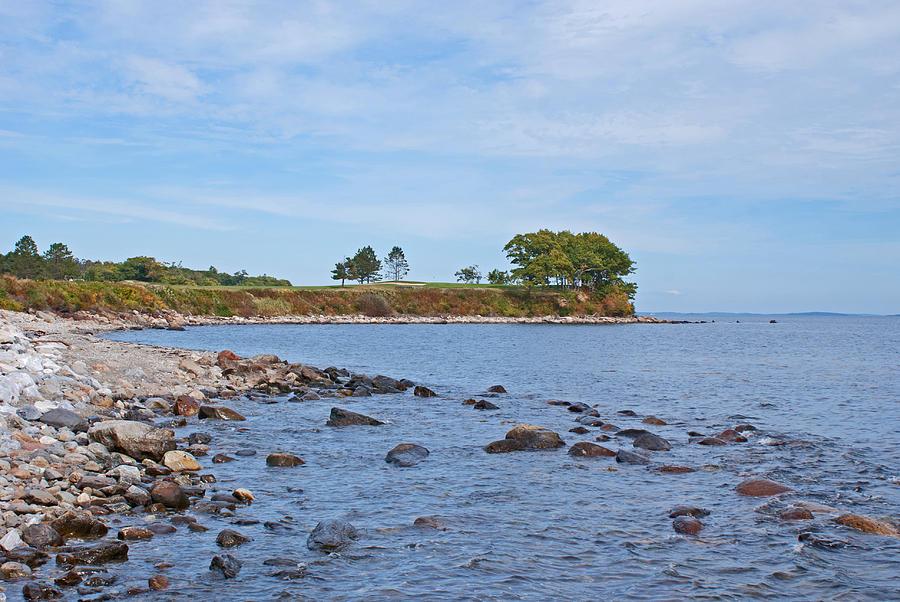 Rockland Maine Photograph - Rockland Maine Coastline by Kristen Mohr