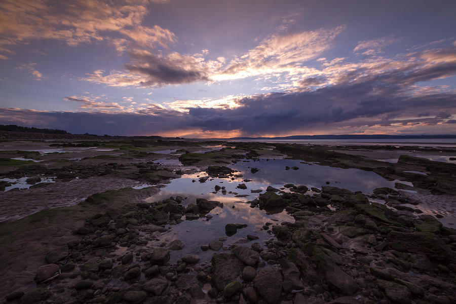 Beach Photograph - Rockpool Reflections by Karl Normington