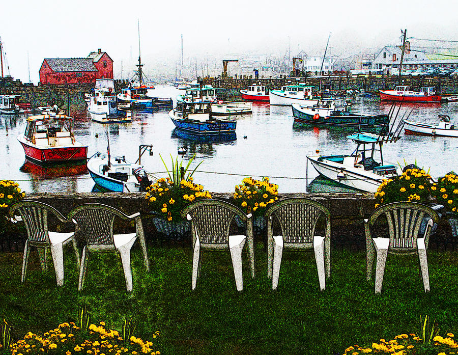 Rockport Chairs by Sandy Scharmer