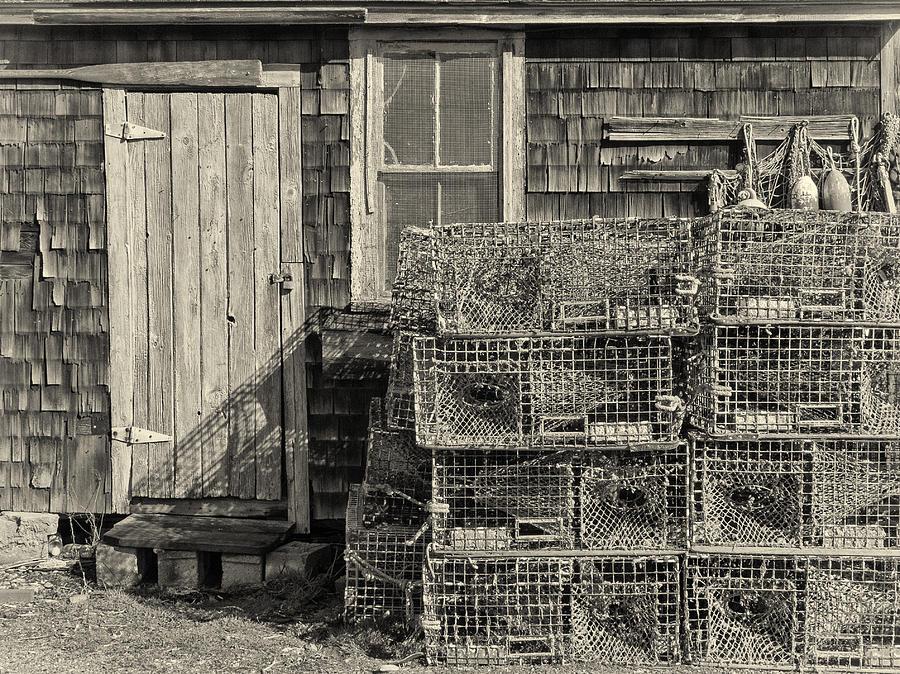 Shack Photograph - Rockport Fishing Shack by Nancy De Flon
