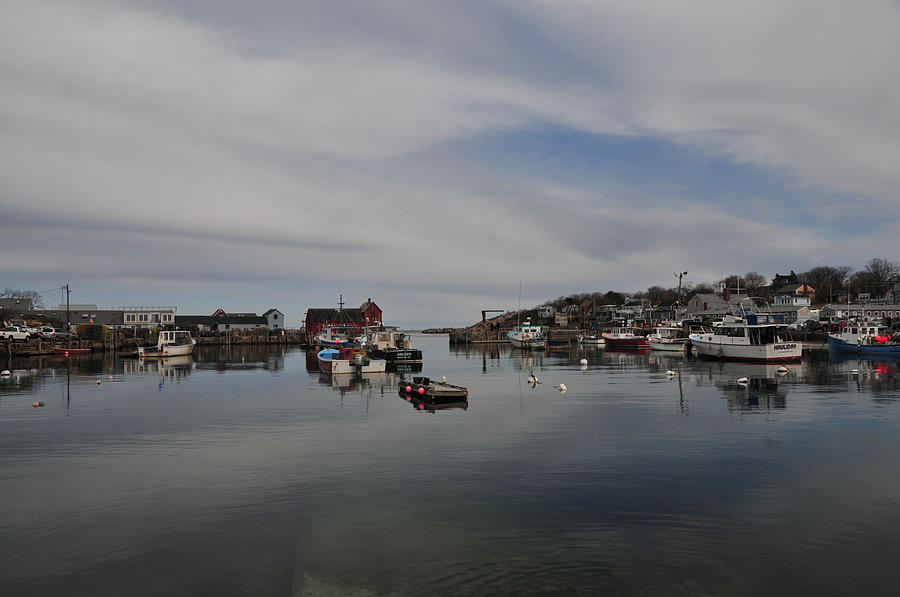 Seascape Photograph - Rockport Harbor by Mike Martin