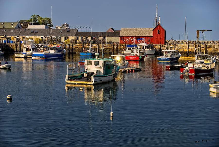 Rockport Harbor No.1 Photograph