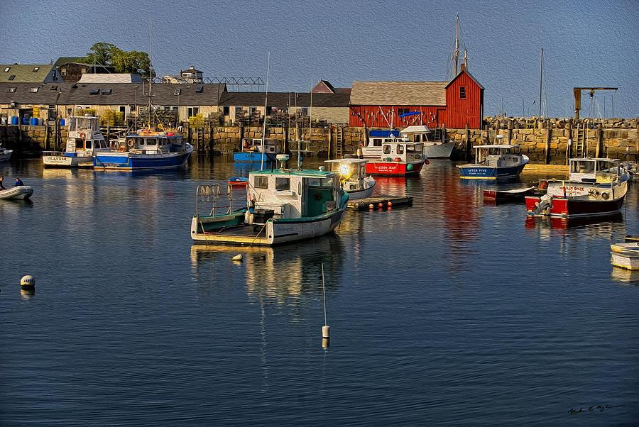 Rockport Harbor No.2 Photograph