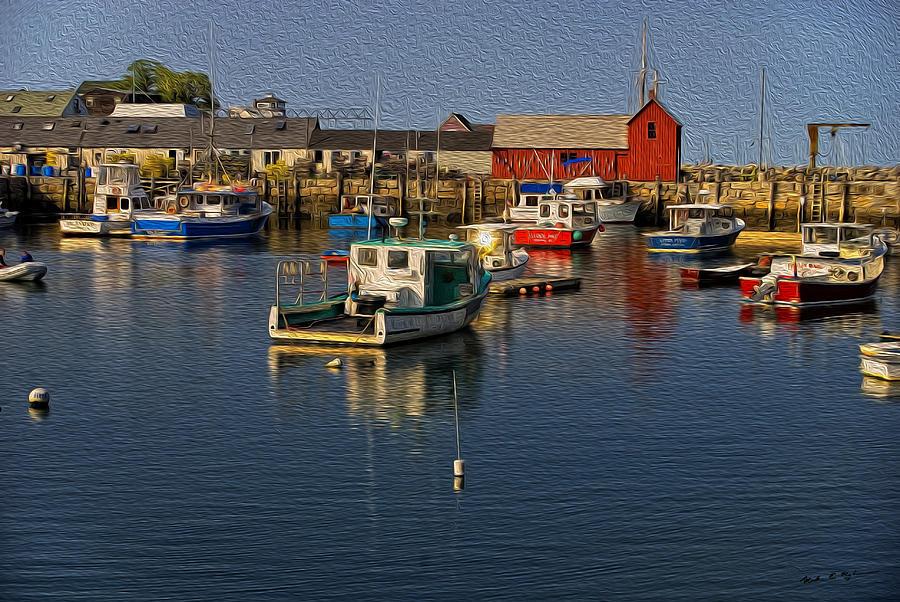 Rockport Harbor No.3 Photograph
