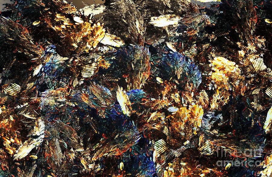 Stones Digital Art - Rocks And Minerals by Klara Acel
