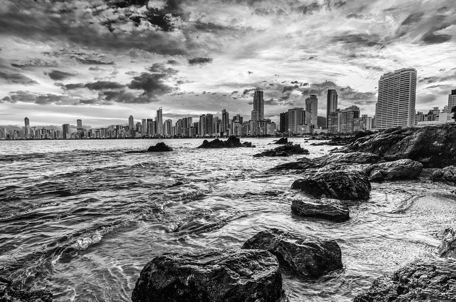 City Photograph - Rocks By The Sea by Jose Maciel