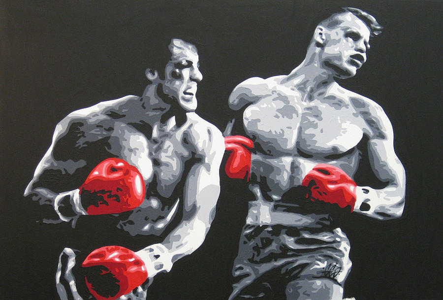 Rocky 4 Painting By Geo Thomson
