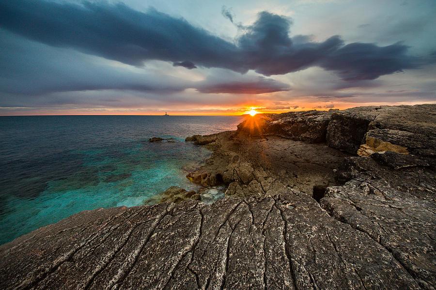 Landscape Photograph - Rocky Beach II by Davorin Mance