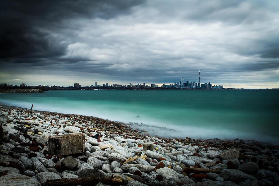 Toronto Photograph - Rocky Beach by Milan Kalkan