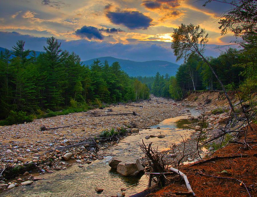 Sunset Photograph - Rocky Branch Sunset by RockyBranch Dreams