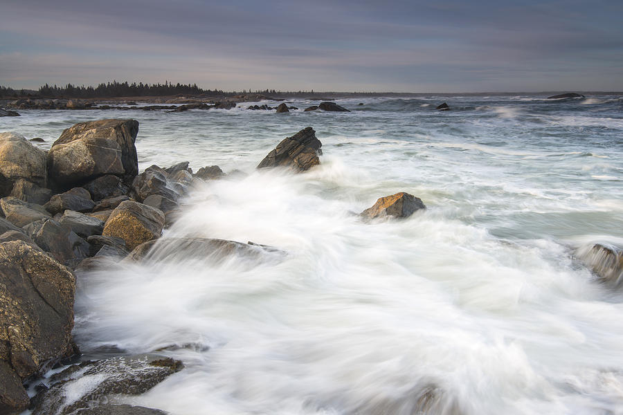 Rocky Coast Kejimkujik Np Nova Scotia Photograph by Scott Leslie
