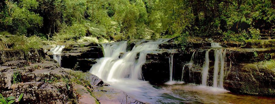 Rocky Crossing Falls by David Rich