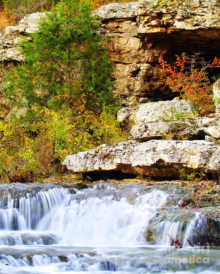 Rock Photograph - Rocky Fall by Kevin Pugh