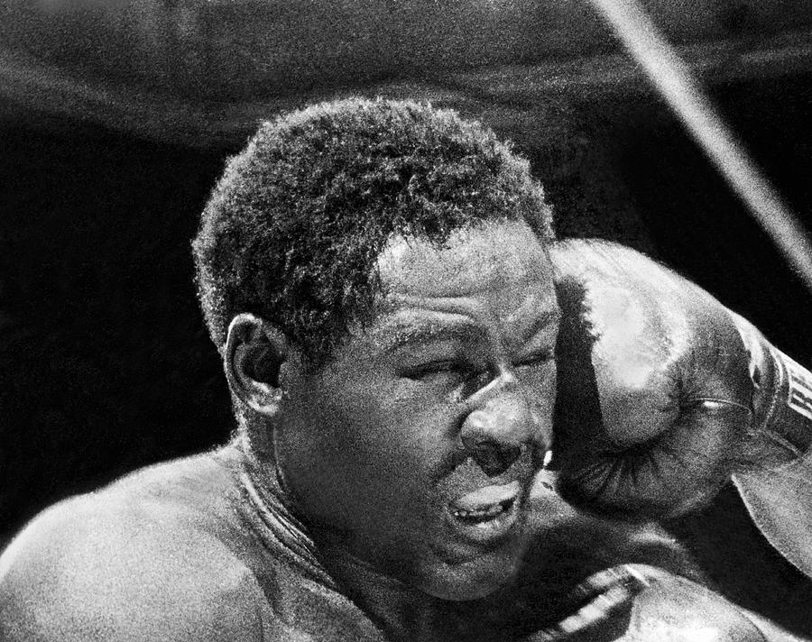 1950's Photograph - Rocky Marciano Fist by Underwood Archives