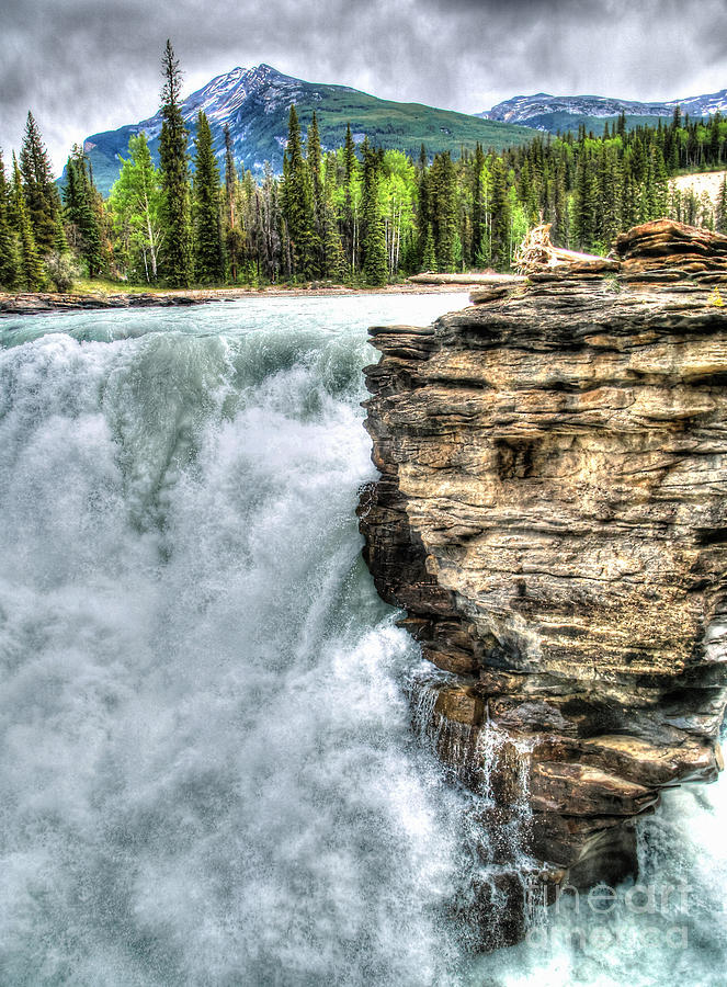 Athabasca Falls Photograph - Rocky Mountain Dreams by Skye Ryan-Evans