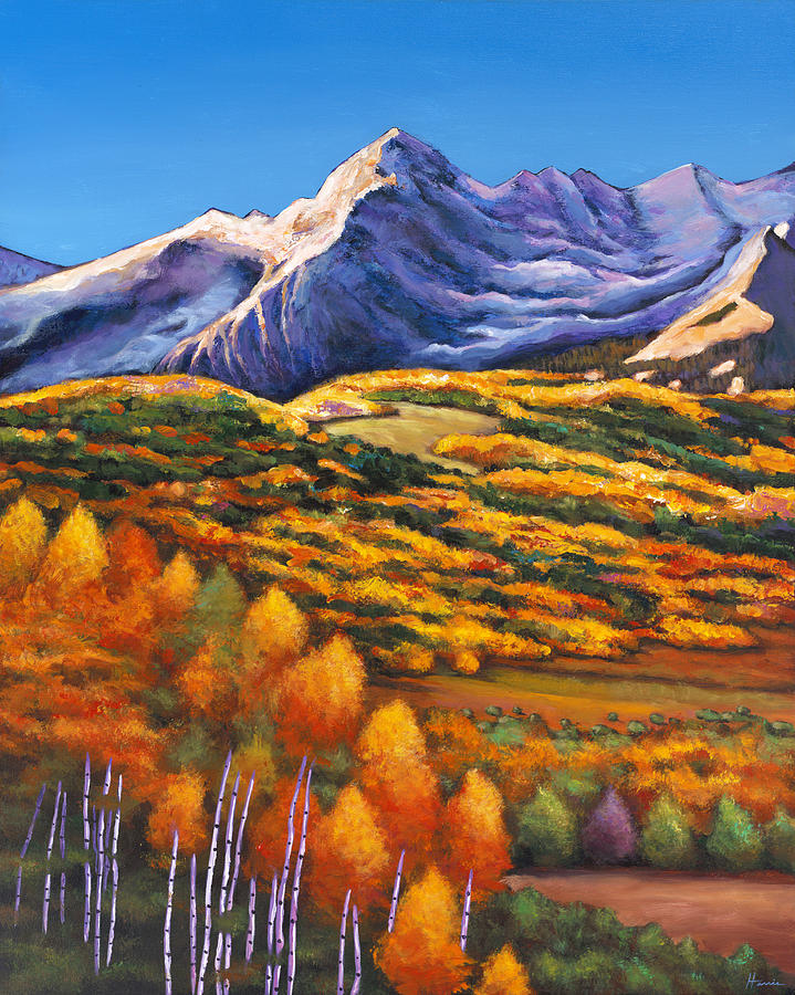 Southwest Landscape Painting - Rocky Mountain High by Johnathan Harris