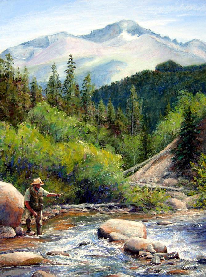 Colorado Painting - Rocky Mountain High by Mary Giacomini
