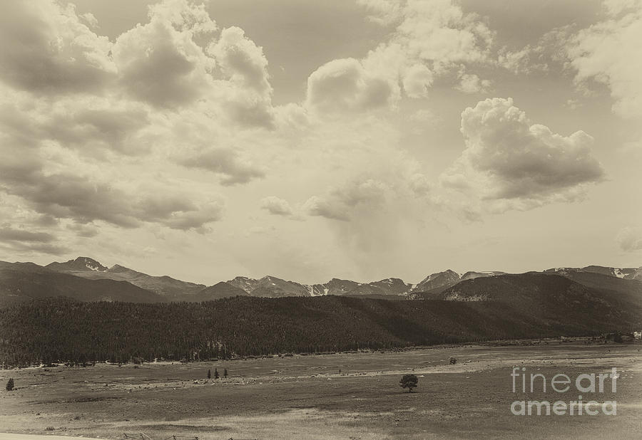 Rocky Mountains Photograph - Rocky Mountains Front Range by Kay Pickens