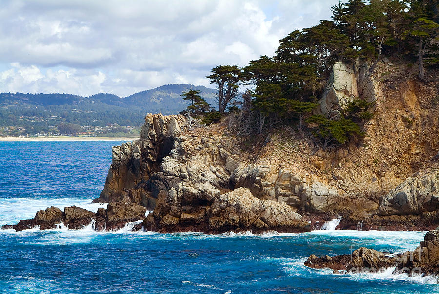 Rocky Outcropping At Point Lobos Photograph