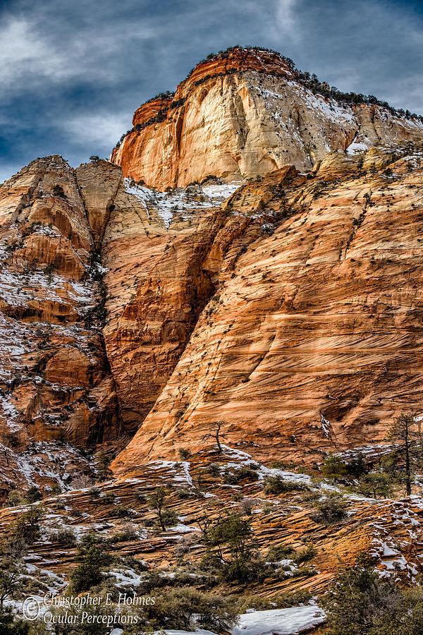 Utah Photograph - Rocky Peak by Christopher Holmes