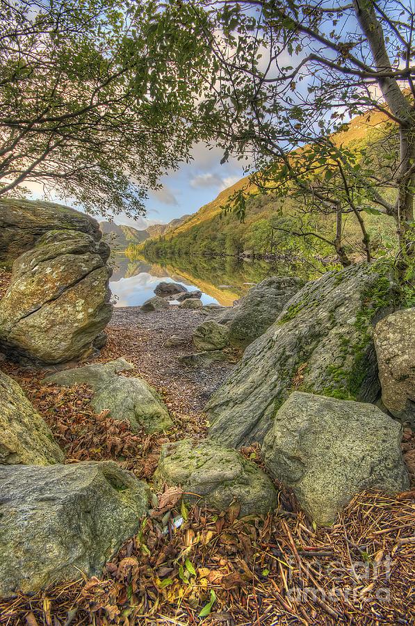 Betws Y Coed Photograph - Rocky Shores by Darren Wilkes