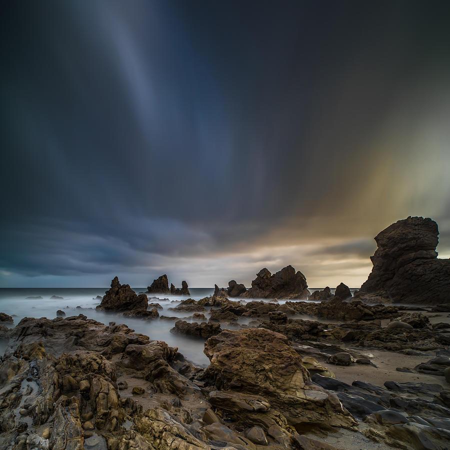 Corona Del Mar Photograph - Rocky Southern California Beach 3 by Larry Marshall