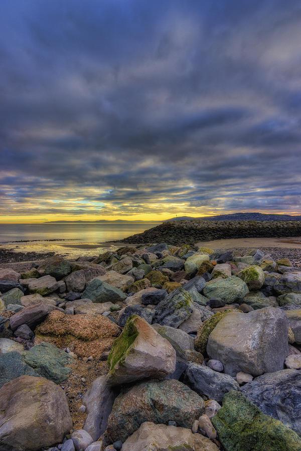 Sunrise Photograph - Rocky Sunrise by Ian Mitchell