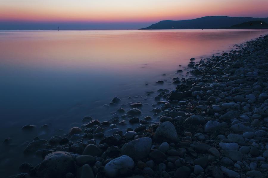 Sunset Photograph - Rocky Sunset by Ian Mitchell
