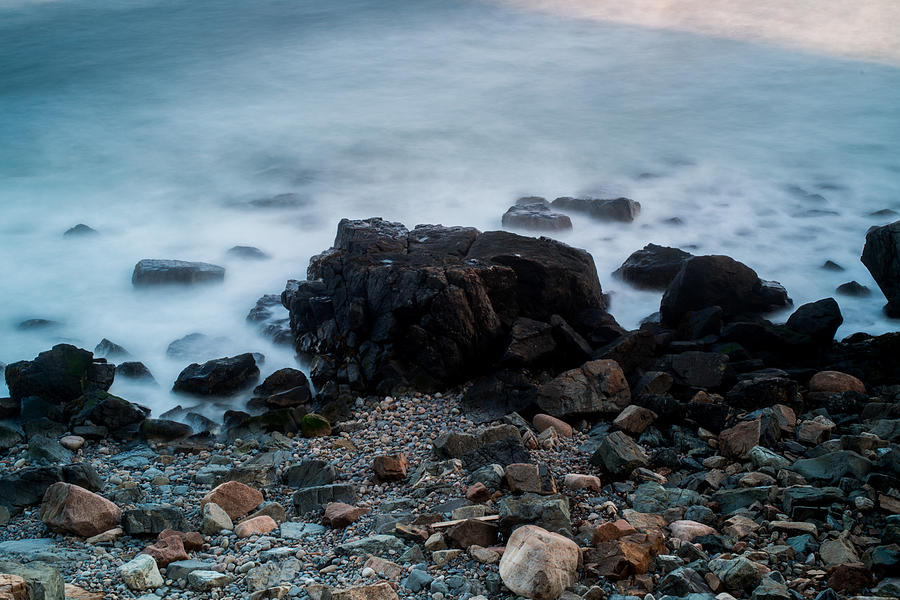 Beach Photograph - Rocky Water by Allan Johnson
