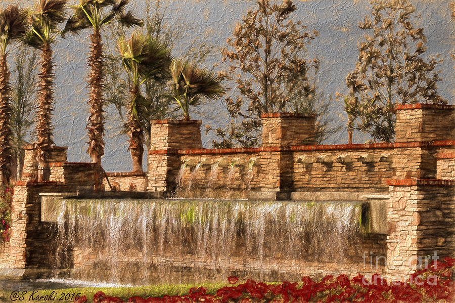 Rocky Waterscape by Sue Karski