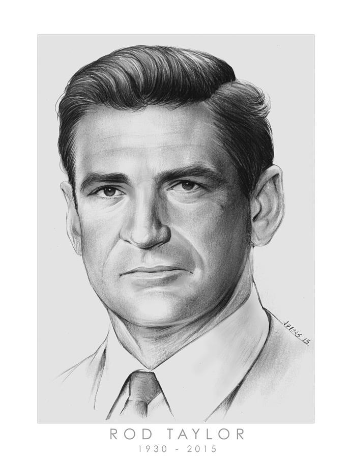 Rod Taylor Drawing