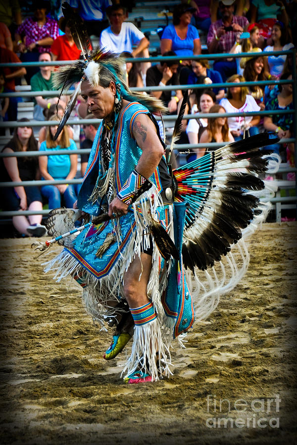 Rodeo Indian Dance by Gary Keesler