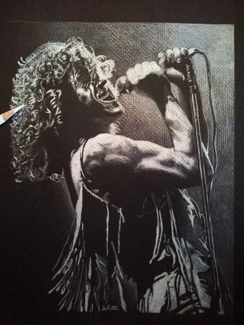 Colored Pencil Drawing - Roger Daltrey by Greg Schram