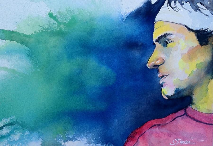 Roger Federer Painting - Roger by Scott  Parker